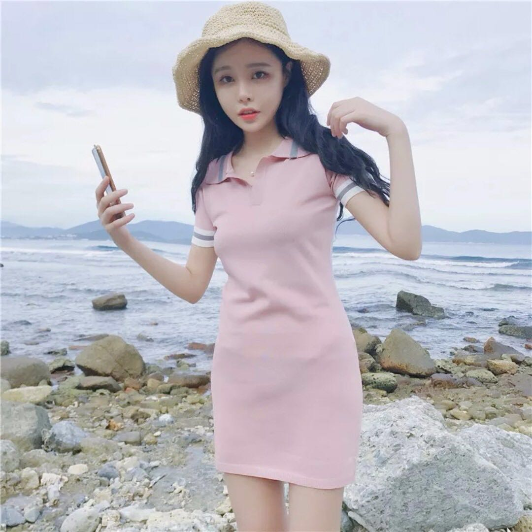 Brand New Polo Fitting Knitted Dress