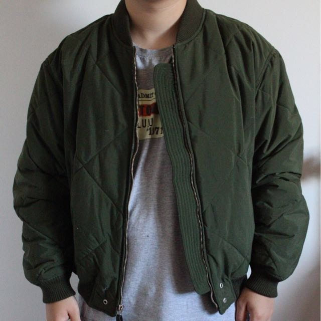 Green Bomber Jacket (S)