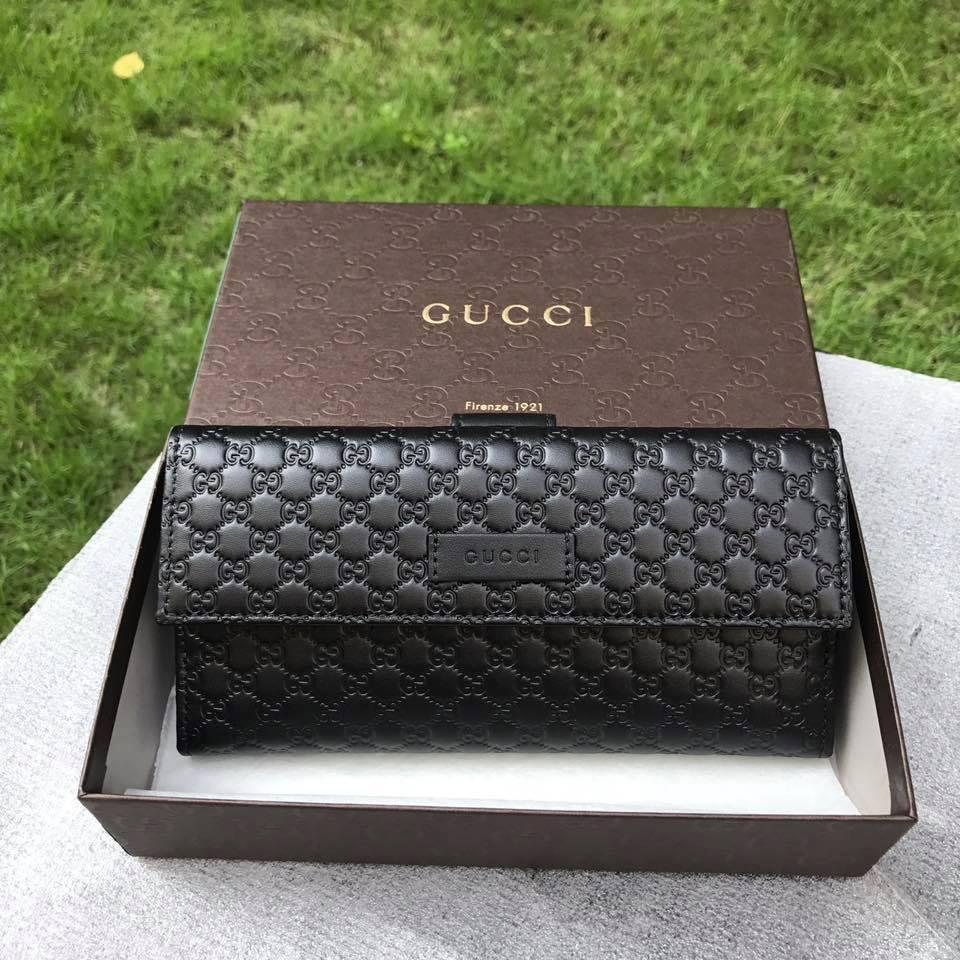 2596f817074 Gucci Micro Guccissima Signature continental wallet
