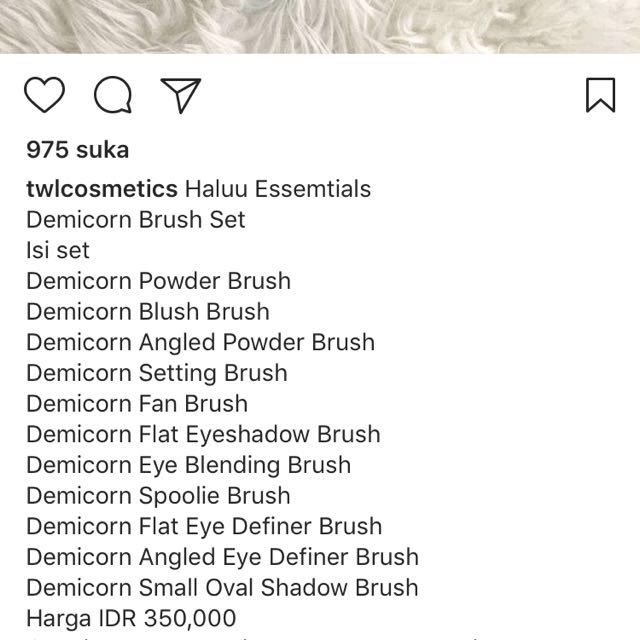 Haluu Essentials Demicorn Brush