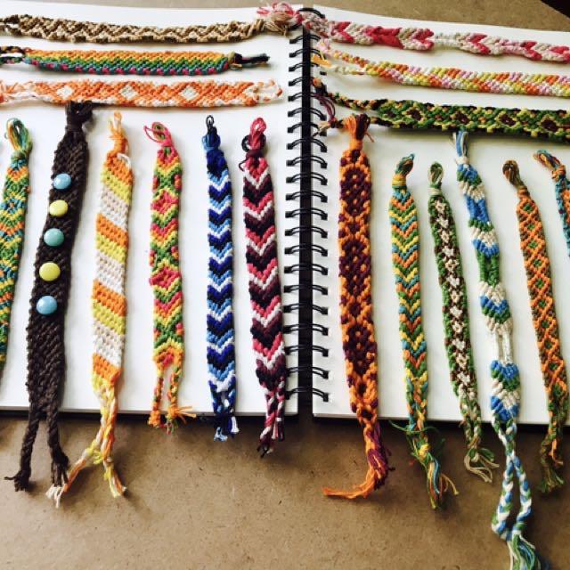 Handmade wrist bands