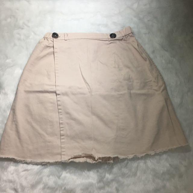 Highwaist Two buttoned Skirt