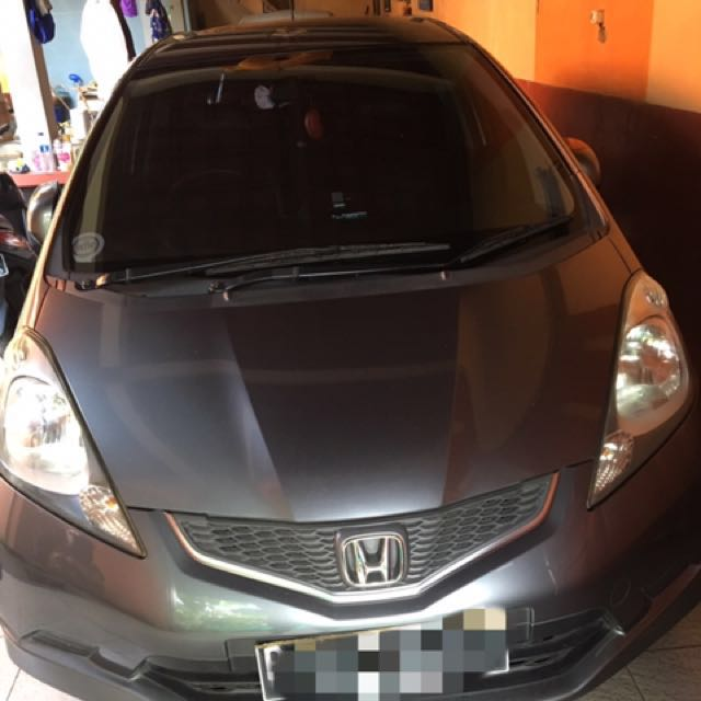 Honda Jazz RS 2009 Silver Metalic Automatic Transmission