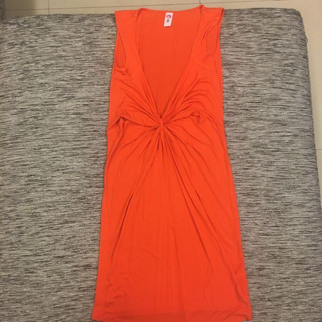 Ibby Libby Orange Dress