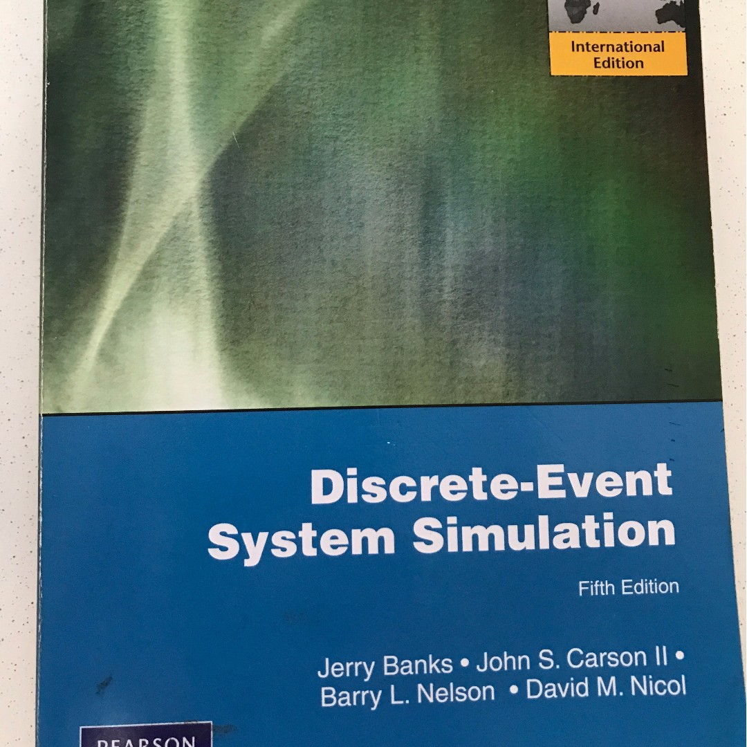 IE3110E Discrete Event System Simulation Fifth Edition Textbooks On