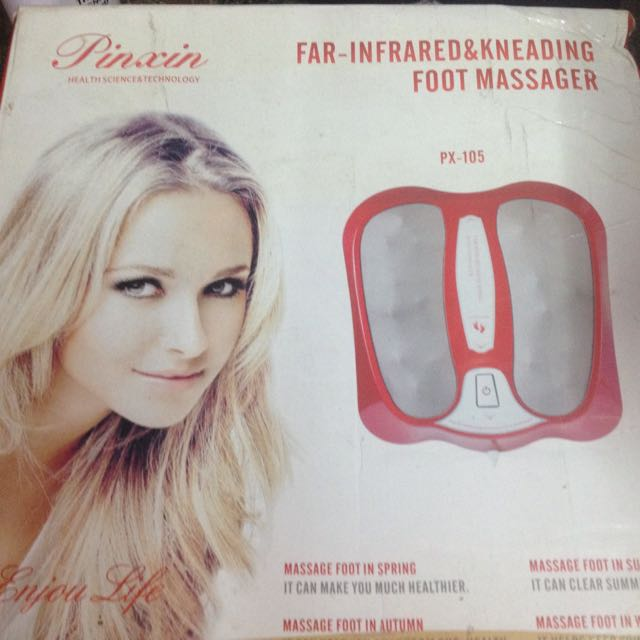 Infrared foot massager