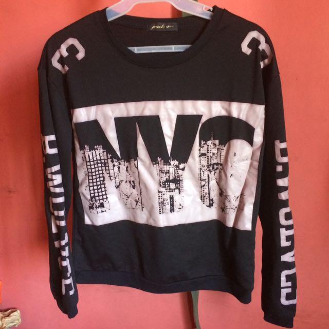 Jewels Black Sweater