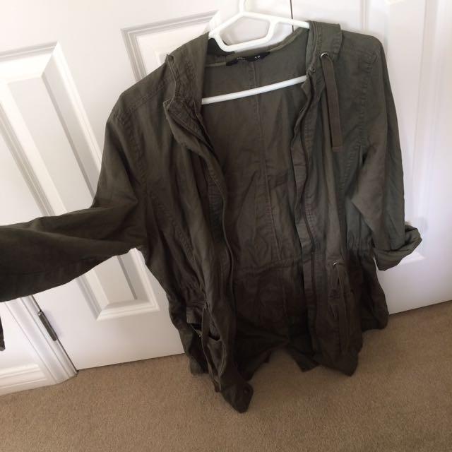 Khaki army Jacket