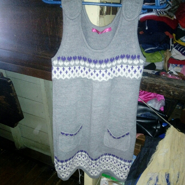Knitted Mini House Dress