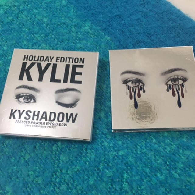 KYLIE The Holiday 2016 Palette Authentic only Swatched once