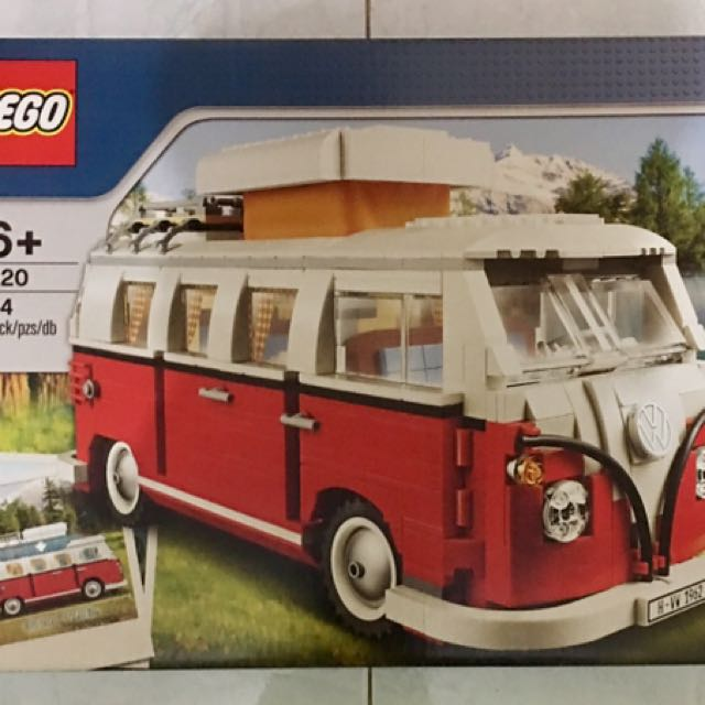 Vw Camper Van >> Lego Creator Vw Camper Van 10220 Baru