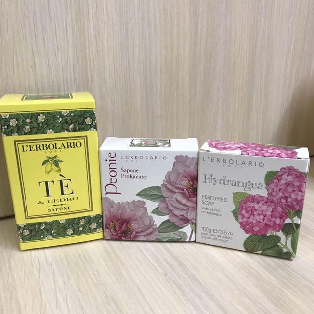 (全新)蕾莉歐L'ERBOLARIO 植物香氛皂