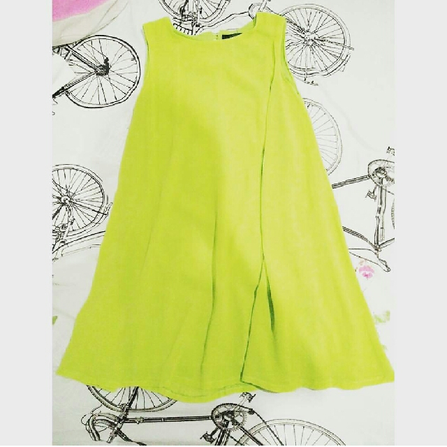 lookboutiquestore lime dress