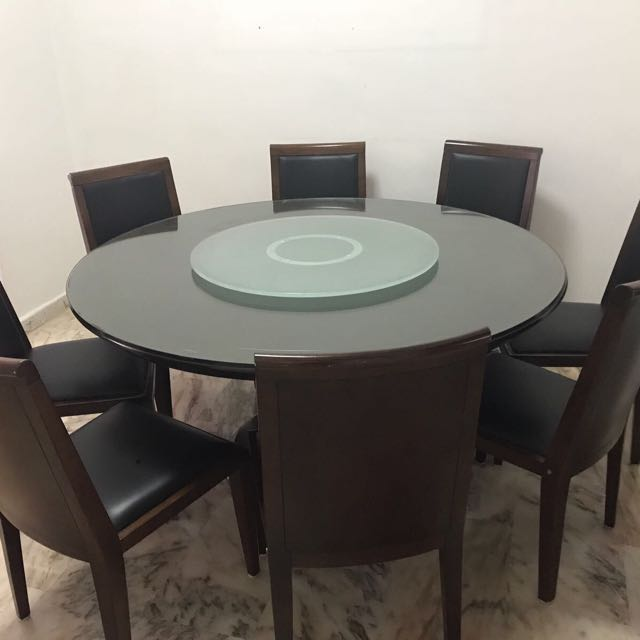 Lorenzo Dining Table 8 Seater Furniture Tables Chairs On Carousell