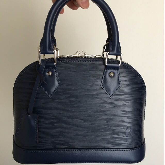Louis Vuitton Alma BB Indigo Epi