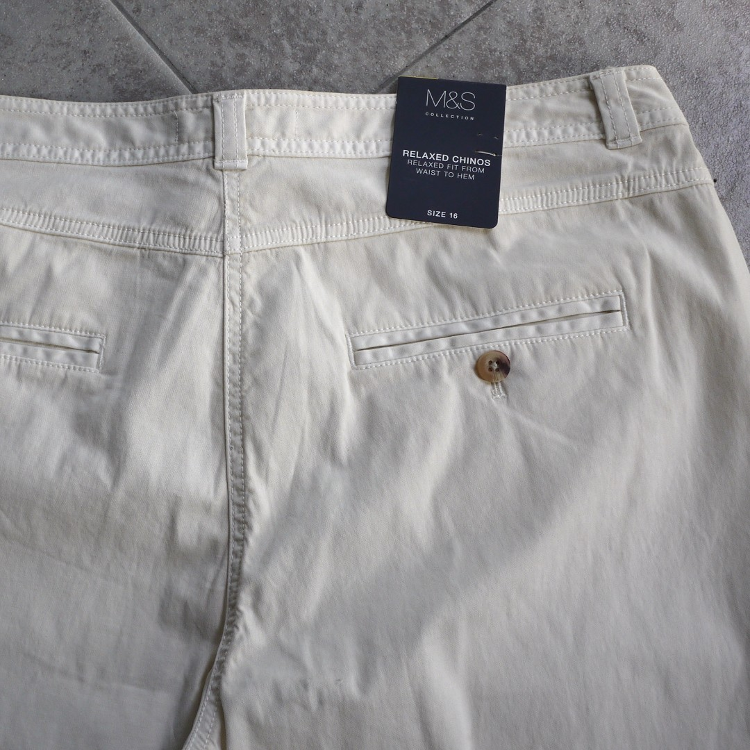 Marks & Spencer PLUS SIZE Chinos (FREE SHIPPING)