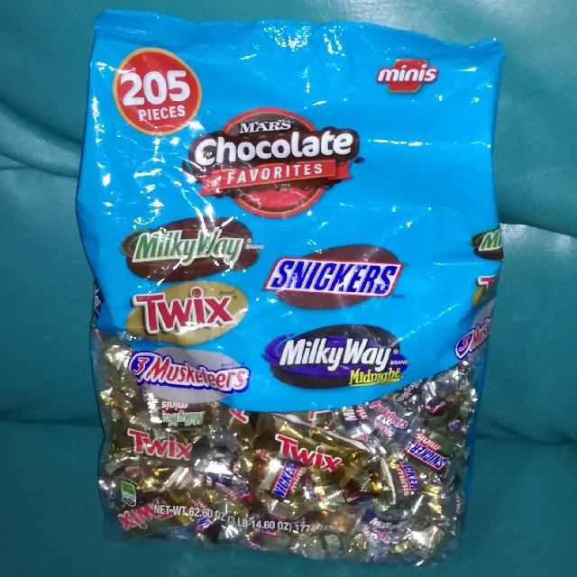 SALE!! Mars Chocolates Favorites Minis