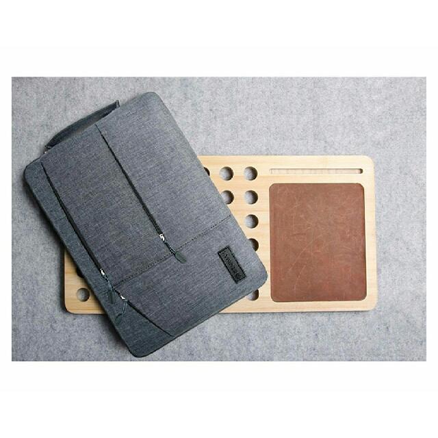 Minimalist Style Cushioned Laptop Bag / Document Bag / Office Bag / Work Bag