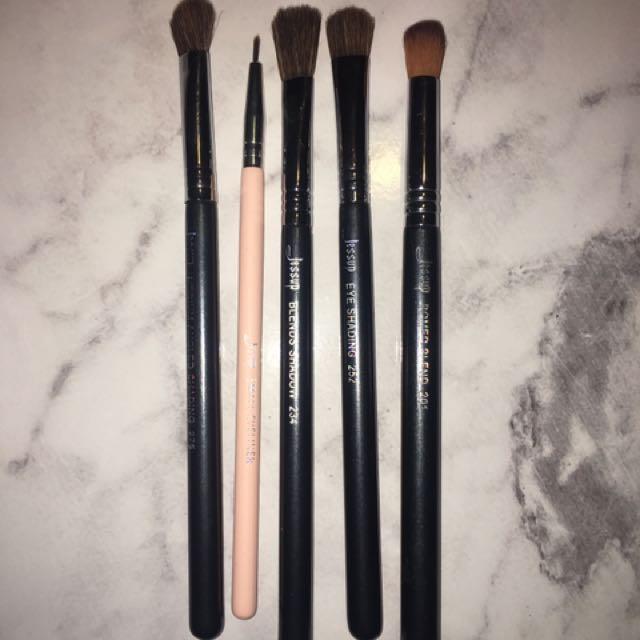 Mixed Eyeshadow Brushes
