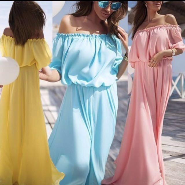 Mixi Bohemia long Dress Casual Summer