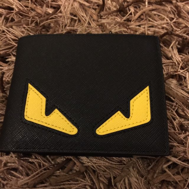 Monster Eyes Wallet Brand New