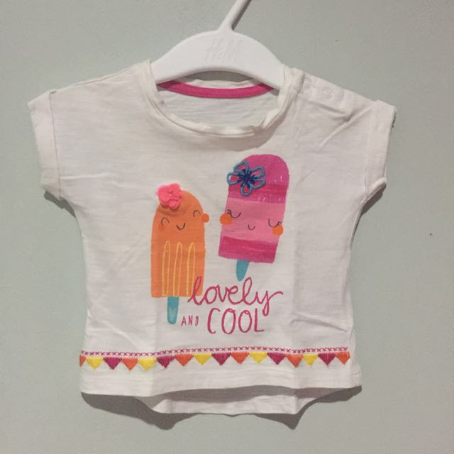 Mothercare lovely and cool white top