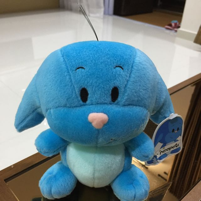 NeoPets Plush Toy, Toys & Games, Bricks & Figurines on Carousell