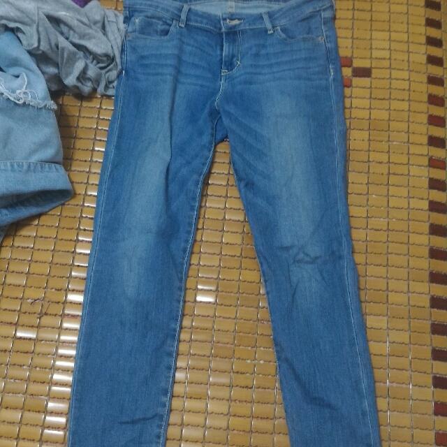 Net 淺藍牛仔長褲38