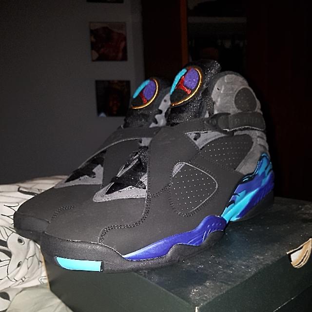 Nike Air Jordan 8 Aquas