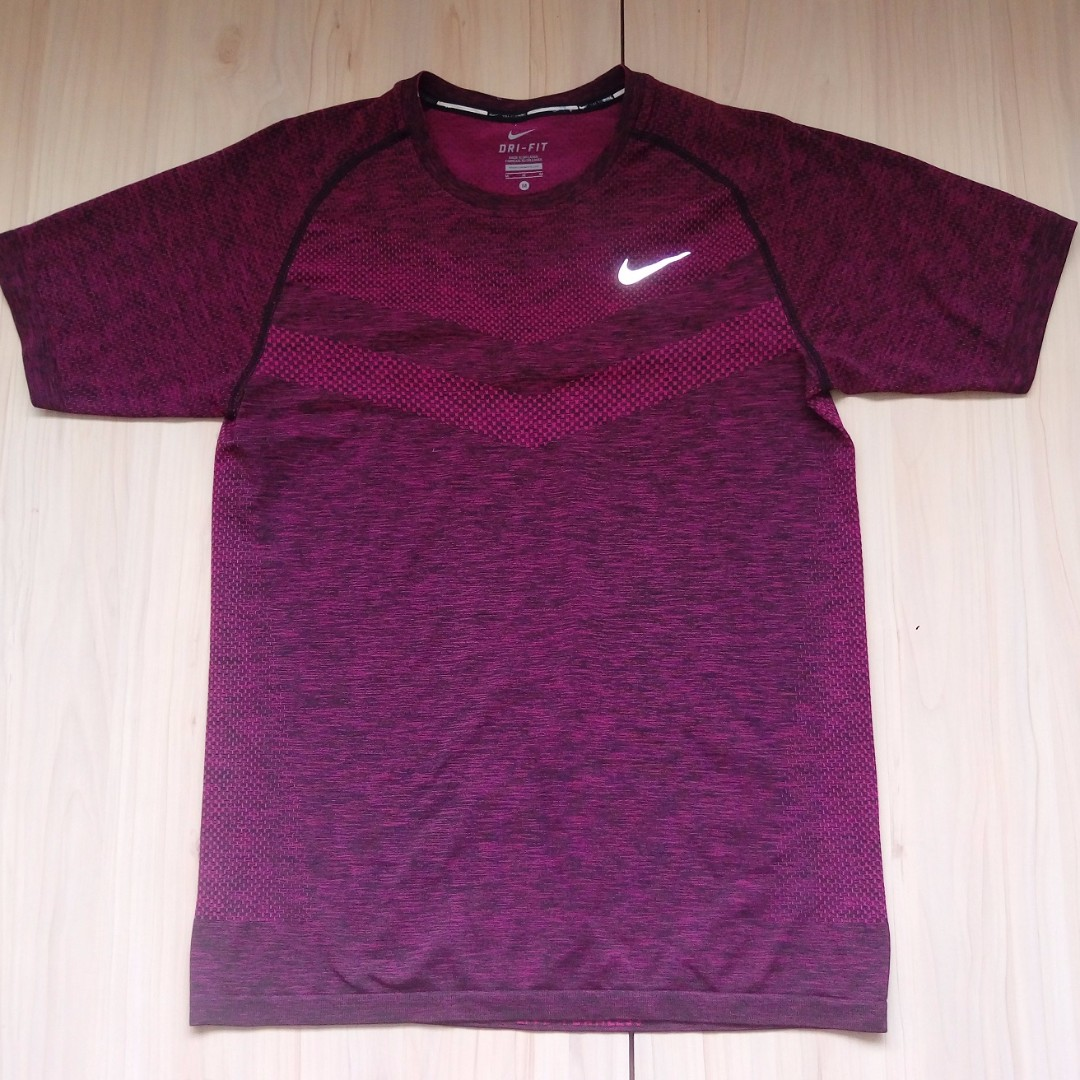 Nike Running 健身 跑步 針織 短袖 M號