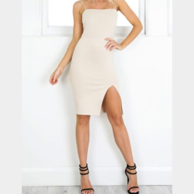 Nude Dress 20%off