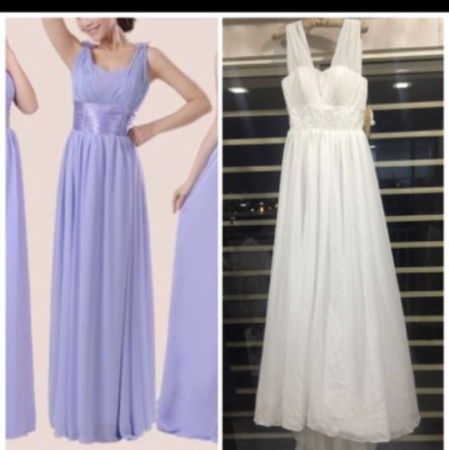 Offer 80% off Premium dinner gown