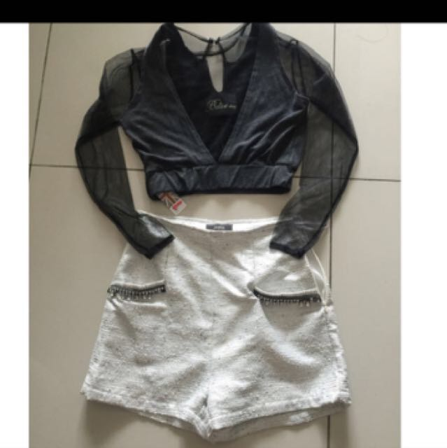 Offer lace top