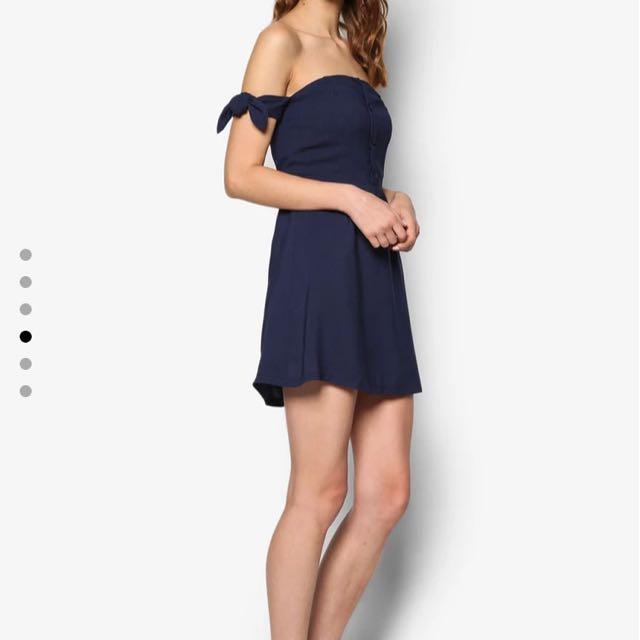Offer premium off shoulder dress