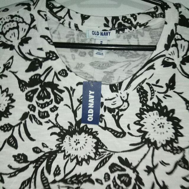 Old Navy Printed Shirt