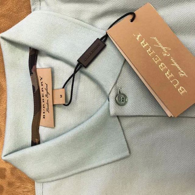 Original Burberry Blue Polo