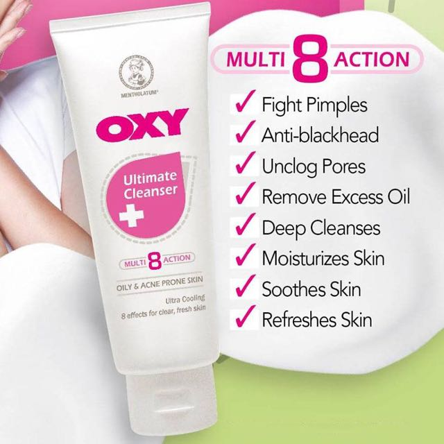 OXY FACE WASH (ultimate cleansing, acne wash)