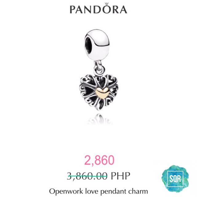 PANDORA Love Pendant Charm