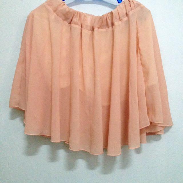 Pastel Chiffon Skirt