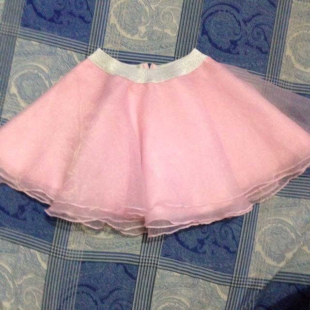 Pink Cutie Skirt for kids