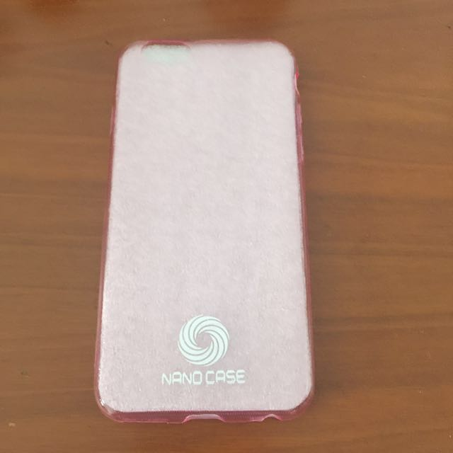 Pink soft case Iphone 6