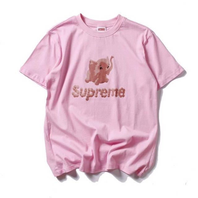 bd4cba950c3061 PO  Supreme Pink Elephant Tee