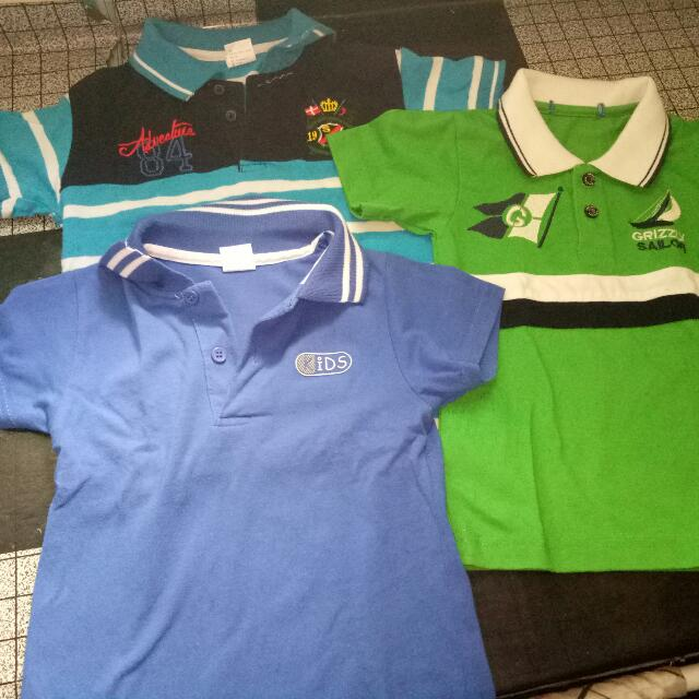 Polo Shirt 3pcs