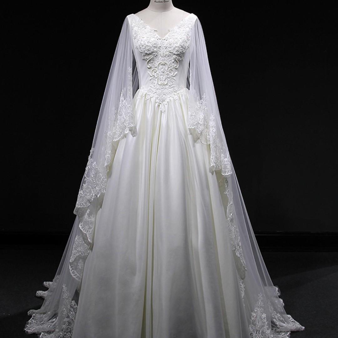 Fairy Wedding Bridal Prom Dress Gown