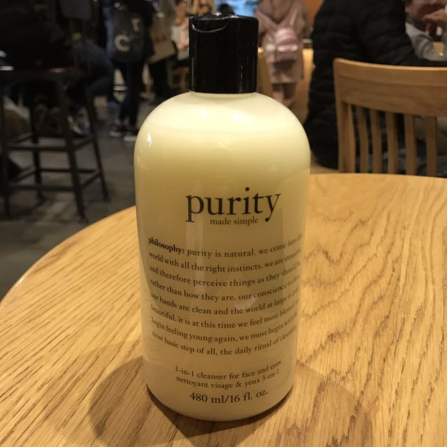 Purity Cleanser 480 ml.