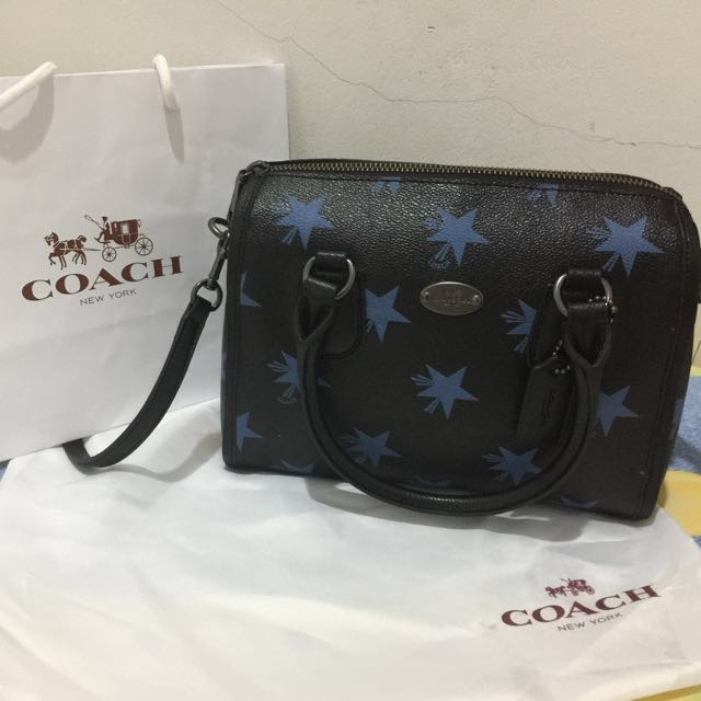 Re-Price Coach bennet Small Black