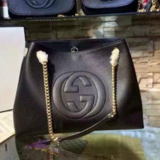 SALE‼️ Gucci GG Hobo Lambskin Bag