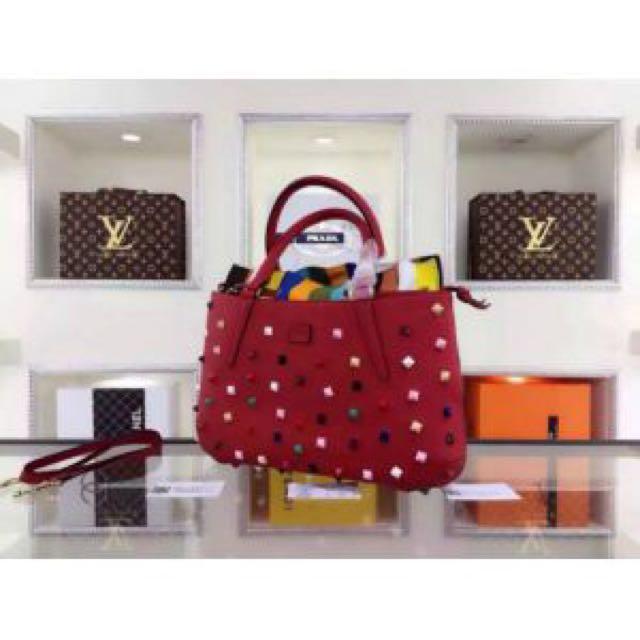 SALE‼️Fendi Multicolor Studded Convertible Bag