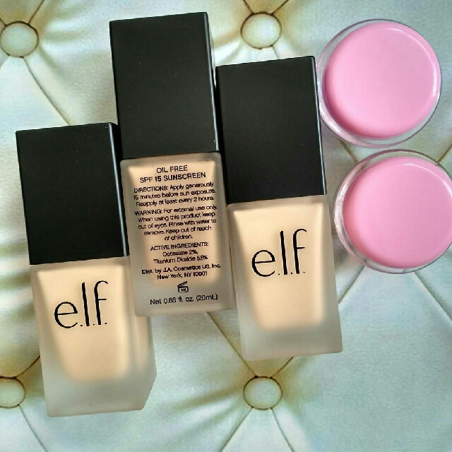 (Share in Jar) ELF Flawless Finish Oil Free SPF 15/PA++