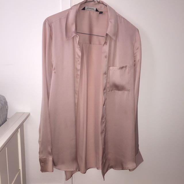 Silk Look Blouse